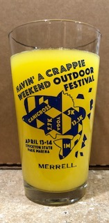 CRAPPIE PINT GLASS