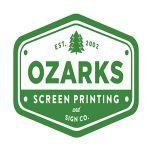 Ozarks Screen printing color logo for web