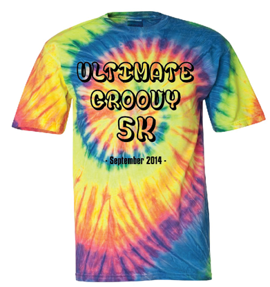 Mock Up on Tie Dye