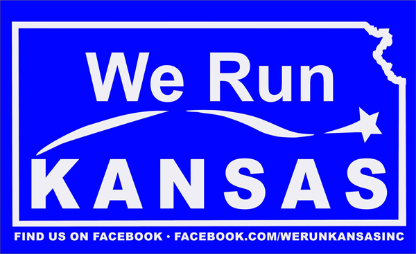 We Run Kansas Logo