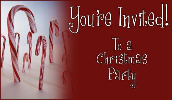 xmas invite