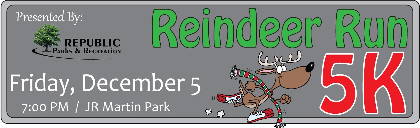 Reindeer Run Logo